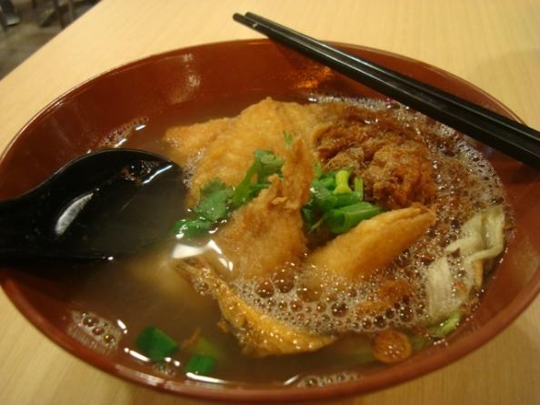 Fried fish bee hoon