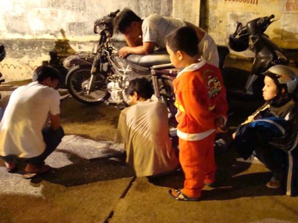 Motorbike Santa